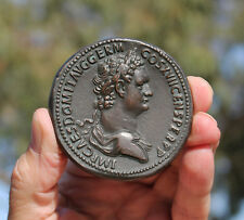 Rom; Emperor Domitian, 15-69 AD, French medaille; sestertius