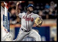 2020 Update Base Advanced Stats #U-137 Touki Toussaint /300 - Atlanta Braves