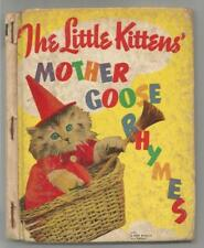 The Little Kittens' Mother Goose Rhymes (Real Vintage Photos)