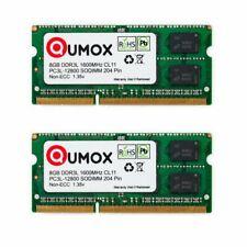 Qumox 16GB (2 x 8Go) PC-12800 (DDR3-1600) Mémoire