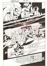 The Batman Strikes #3 p.9 - Joker Action - 2005 Signed art by Christopher Jones
