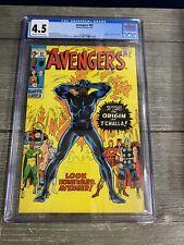 CGC 4.5 Marvel AVENGERS #87 🔥Origin of Black Panther🔥