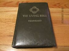 1972 THE LIVING BIBLE-PARAPHRASED Tyndale House WHEATON IL HC