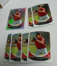 7 JAKE LAMB Baseball card lot ARIZONA DIAMONDBACKS Bowman Chrome mini #/125
