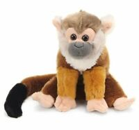 CUDDLEKINS MINI SQUIRREL MONKEY PLUSH TOY 20CM STUFFED ANIMAL BY WILD REPUBLIC