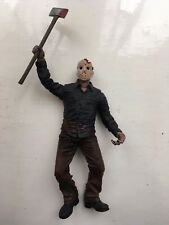 "7"" MEZCO CINEMA OF FEAR SERIES 1 FRIDAY THE 13TH JASON VOORHEES HORROR FIGURE"