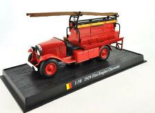 Fire Engine Belgium 1929 Fire Engine Chevrolet metal 1/50 Fire Vehicle Model car