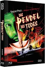 Mediabook LE PENDULE DES TODES Vincent Prix PIT AND THE PENDULE BLU-RAY DVDBox