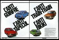 1978 Citroen GS GSpecial 4 car color photo French vintage print ad