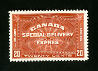 Canada Stamps # E4 XF OG NH Scott Value $125.00