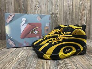 Reebok Shaqnosis Minion Shaq Fu Special Box Basketball Shoes Size 8.5 FX3343