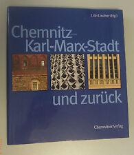 Chemnitz -Karl-Marx-Stadt und zurück Udo Lindner*Bildband + org. Schutzumschlag