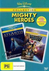 ATLANTIS / TREASURE PLANET : NEW Disney DVD