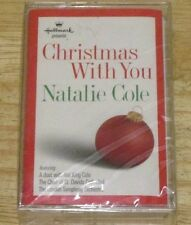 Hallmark Cards Cassette Christmas With You 1998 by Natalie Cole NEW & Unopened