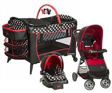 Disney Baby Boy Travel System with Car Seat Playard Nursery Set Combo