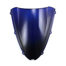 Windshield Windscreen For Kawasaki Ninja ZX-6R 2005-2008 /ZX-10R 2006-2007 Blue