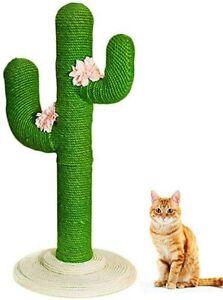Design Katzen Kratzbaum Kaktus 80/105cm groß Katzenkratzbaum Sisal Kletterbaum
