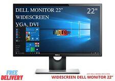 "DELL MONITOR 22"" INCH WIDESCREEN PC COMPUTER LCD TFT 22INCH WIDESCREEN MONITOR"