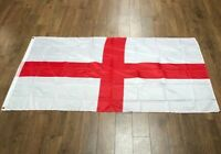 England Flag 5ft x 3ft St George Cross Flags Eyelets English Football Rugby Day