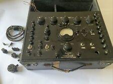 Radiolab Valve Tube Tester Complete Valve And Set Tester
