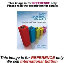 Basic Marketing Research with Excel and Spss Pk by Ronald F. Bush, 3rd (ISE)