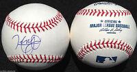HENRY OWENS SIGNED BASEBALL OMLB BOSTON RED SOX 2011 1ST RD PICK PROOF J5