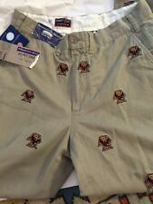 Pennington & Bailes PANTS Boston College Eagles Khaki Stadium Pants 30 NEW