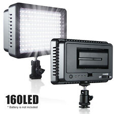 New 160 LED Studio Video Light for Canon Nikon DSLR Camera DV Camcorder