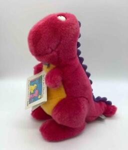 "Rare Vintage GUND + Boynton 11"" GORG T-Rex Dinosaur Plush L.A./B.C. Collection"