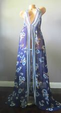 NEW!!! Victoria's Secret!!! FLOWER PRINT Long Nightgown SIZE:LARGE