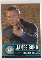 JAMES BOND MISSION LOGS TRADING CARD COLLECTOR PROMO CARD P1 DANIEL CRAIG