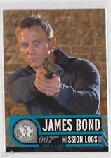 JAMES BOND MISSION LOGS TRADING CARD COLLECTOR PROMO CARD P1 DANIEL CRAIG