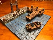 Dungeon Seaport 28mm Terrain Tabletop War Gaming Dungeons & Dragons Scenery D&D