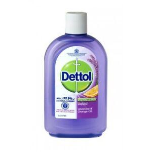 Dettol Disinfectant Liquid Lavender & Orange Oil 250ml Non-Bleach Formula