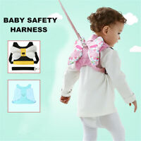 Baby Kids Toddler Safety Harness Leash Strap Walking Cosplay Backpack Reins