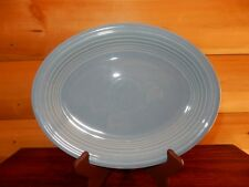 RARE Vintage Fiesta Fiestaware Oval Platter Periwinkle Blue Color HL 11 1/2 inch