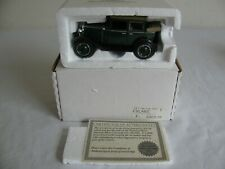 National Motor Museum Mint 1/32 Scale Green 1929 Chevrolet Landau NOS