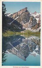 0891. colour-AK. SEEALPSEE MIT SÄNTIS-MASSIV. Gelaufen 1932 Weissbad nach FFM