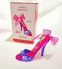 2017 Hallmark Shoe Ornament Blast Off with Barbie Convention Exclusive Mattel