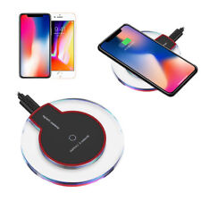 Qi Wireless Charger Charging Pad or Car Charger For Samsung S9 Note 8 S8 iPhone8