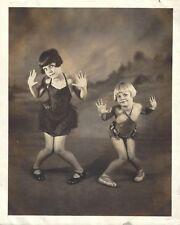"""June Preisser """"ZIEGFELD FOLLIES"""" Stars / Cherry Preisser 1926 Vaudeville Photo"""