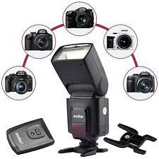 Godox Flash TT520II GN33 Build-in 433MHz + RT Transmitter For Canon Nikon Sony