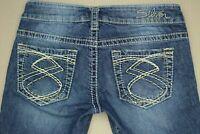 Silver Frances Capri Cropped Jeans Women's Size 25 Medium Wash Denim