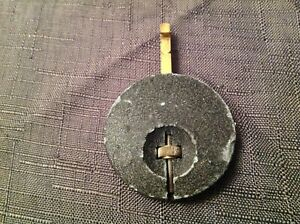 Vintage Enfield Clock Pendulum Bob 85g 45mm Diameter 65mm long