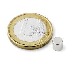 Super Magnete STOCK 20 Cilindri al Neodimio dimens. 5 x 5 mm Pot. 900 gr. LOTTO