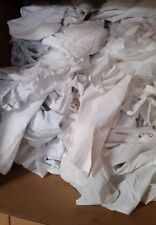 WHITE SHEETING RAGS RECLAIMED 50 LBS