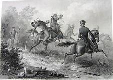 Mexican American War DEATH SAUMEL RINGGOLD Battle Palo Alto ~ Old 1860 Art Print