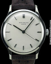 PATEK PHILIPPE VINTAGE CALATRAVA REF 570 18K WHITE GOLD ca 1960