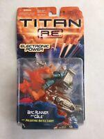 TITAN A.E. Arc Runner & Cale Action Figure & Vehicle (Hasbro, 2000) Complete AE