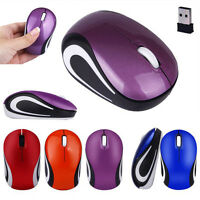 1600DPI 2.4G Optical Wireless Mouse Pro Mice w/ USB Dongle For Laptop PC Tablet